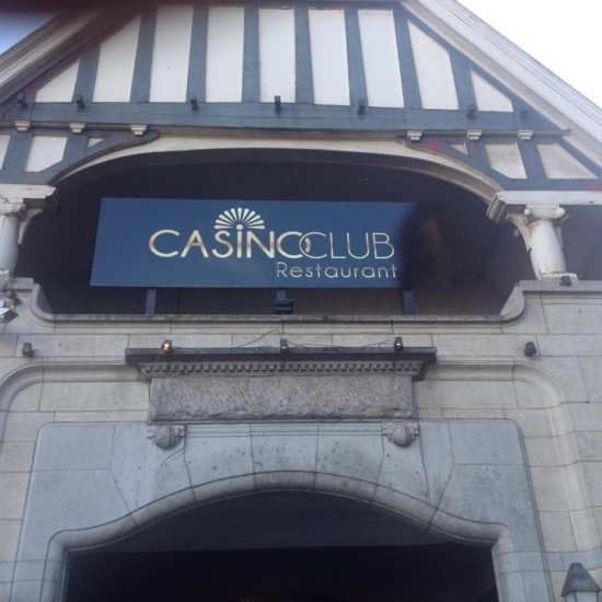 Enseignes en lettrage - Casino club Namur