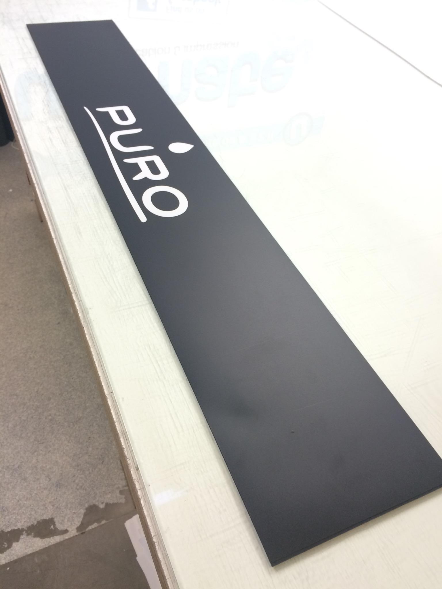 panneau magn tique puro flyers stickers lettrages impression. Black Bedroom Furniture Sets. Home Design Ideas